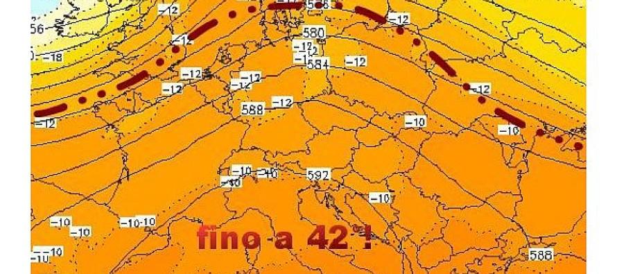 Arriva Caronte: previsti 40 gradi nel prossimo weekend