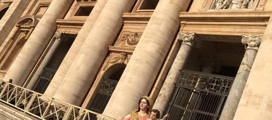 Tutti a Roma per l'incoronazione della statua della Madonna della Consolazione