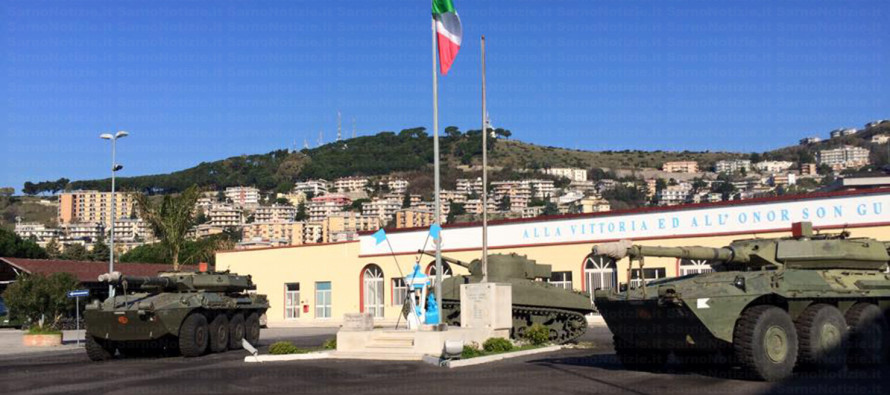 """Il colonnello Carmine Sepe nuovo comandante del Reggimento """"Cavalleggeri Guide"""" di Salerno"""
