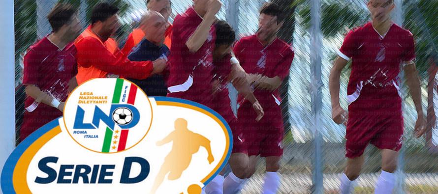 Serie D: Risultati seconda giornata. Sarnese battuta dalla Reggina