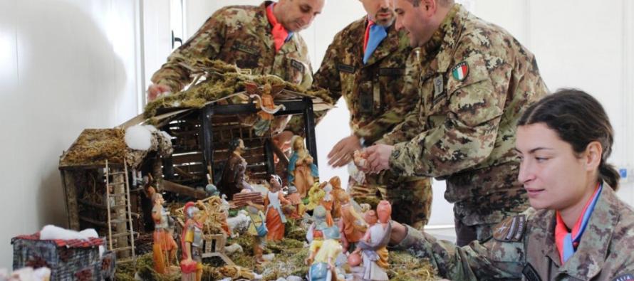 Natale in Kosovo per i soldati di Persano