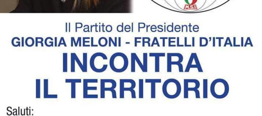 Fratelli d'Italia, vertice a Sarno