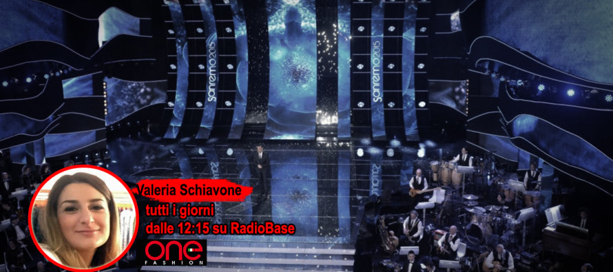 La moda di Sanremo con Valeria Schiavone tutti i giorni su Radio Base. Promossi e bocciati sul palco…