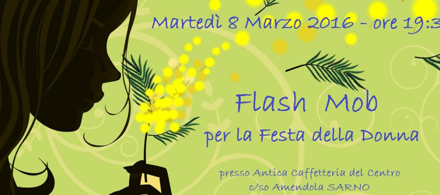 8 marzo – Flash Mob a Sarno. Donne: il rispetto e le pari opportunità