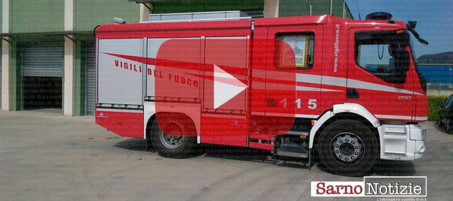 Finalmente la caserma dei vigili del fuoco a Sarno