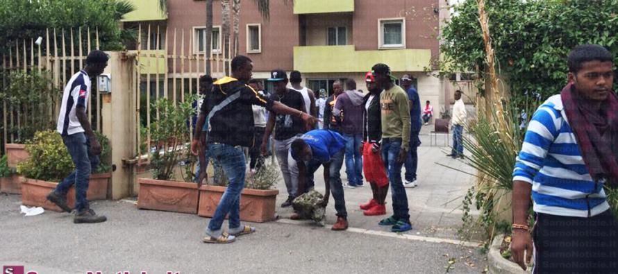 Sbarco migranti: 50 persone attese al Fluminia di Sarno