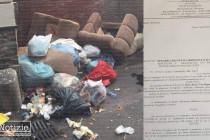 Rifiuti – Condizioni igienico sanitarie al limite. Avviata azione legale da un cittadino