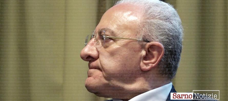 Abusivismo, il monito di De Luca: «No a sanatorie indistinte». In Campania oltre 70mila  alloggi abusivi