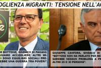 """Accoglienza Migranti: tensioni nell'Agro. Bottone dice """"no"""", Canfora dice """"sì"""""""