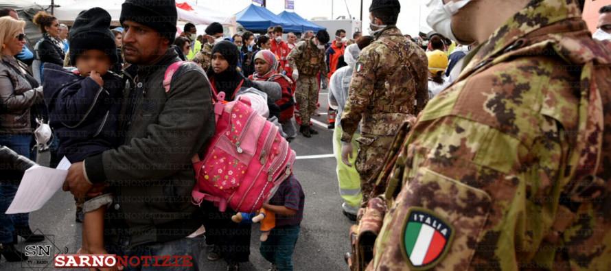 Atri profughi in arrivo in Campania, ospitalità nelle ex caserme