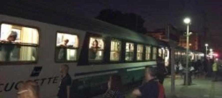 In viaggio verso Lourdes il treno bianco del 44° pellegrinaggio Nocera – Sarno