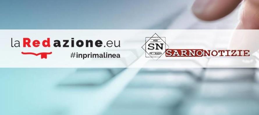 Nasce la collaborazione tra SarnoNotizie.it e laRedazione.eu: ancora più contenuti, più news e maggiore diffusione