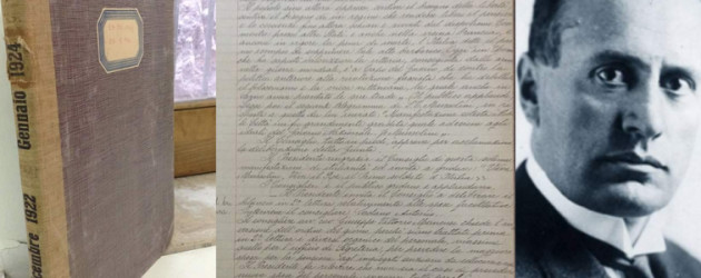 """Canfora: """"Cancelleremo la cittadinanza onoraria a Benito  Mussolini"""". È stata conferita nel 1923"""