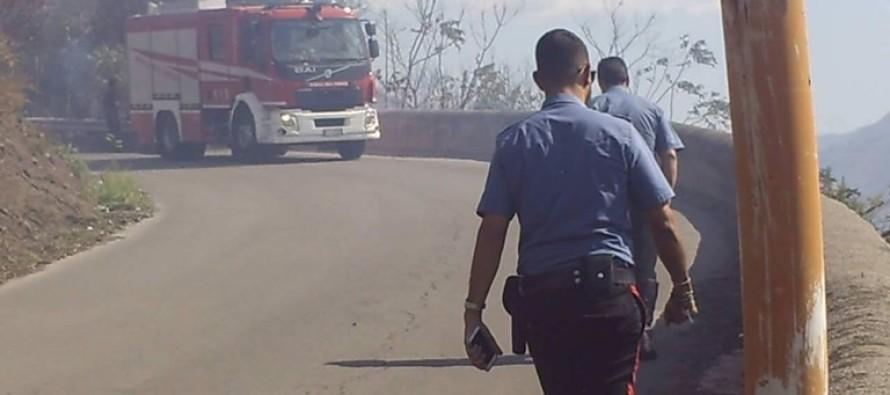 Incendio distrugge vegetazione e minaccia le abitazioni