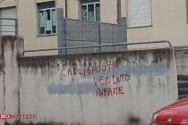 Minacce sui muri ora nel mirino anche i magistrati