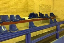 L'Angri Pallacanestro perde ed i tifosi spaccano i sedili