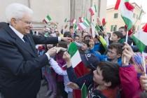 Piccoli studenti al Quirinale per incontrare il Presidente Mattarella