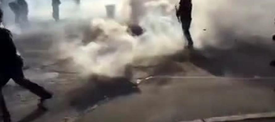 Coppa Italia a Sarno, scoppia la guerriglia. Polizia con lacrimogeni