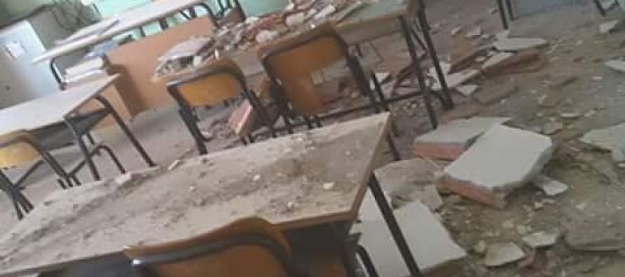 Crolla il soffitto alle elementari paura e accuse