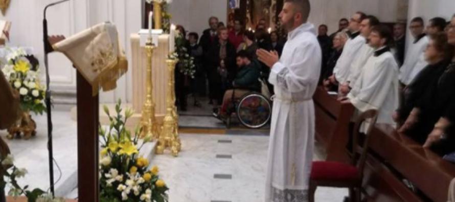 Si festeggia Marco, giovane diacono . Il Vescovo: «Più vocazioni»