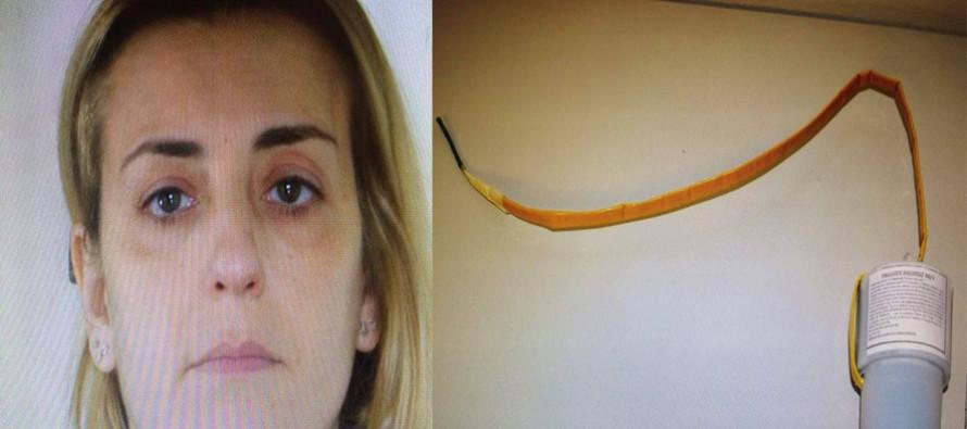 Confermato arresto per la Malfettone. La donna girava con una bomba