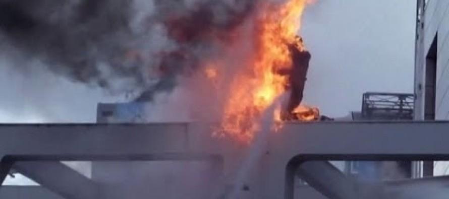 Si cosparge di benzina e si dà fuoco: uomo in gravissime condizioni