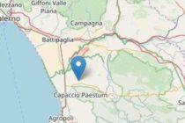 Scossa di terremoto in Campania: tremano le abitazioni tra Battipaglia e Paestum