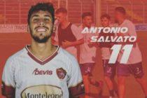 Sarnese, Antonio Salvato ceduto alla Palmese