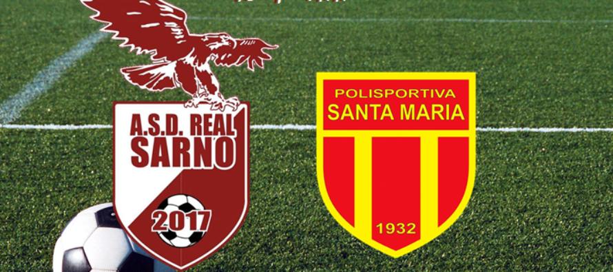 La Real Sarno conquista un importante pareggio contro la Pol. S. Maria