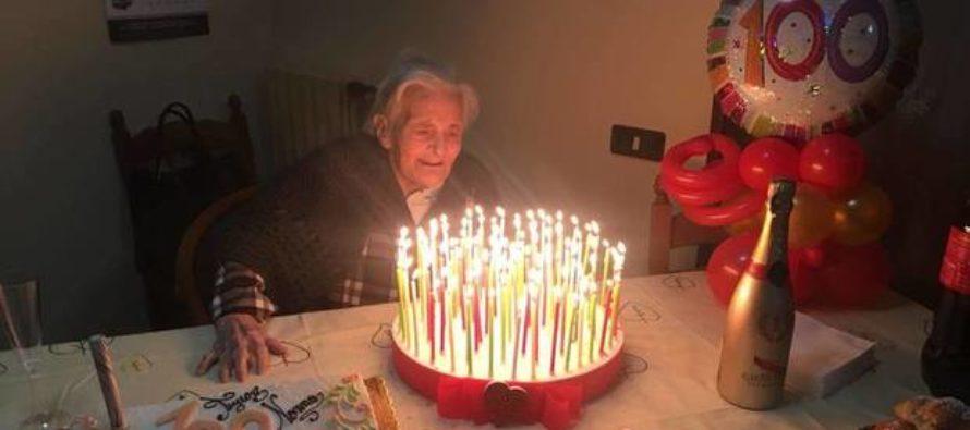 Raffaella, la nonnina centenaria di Sarno: «Il segreto? Non impicciarsi»