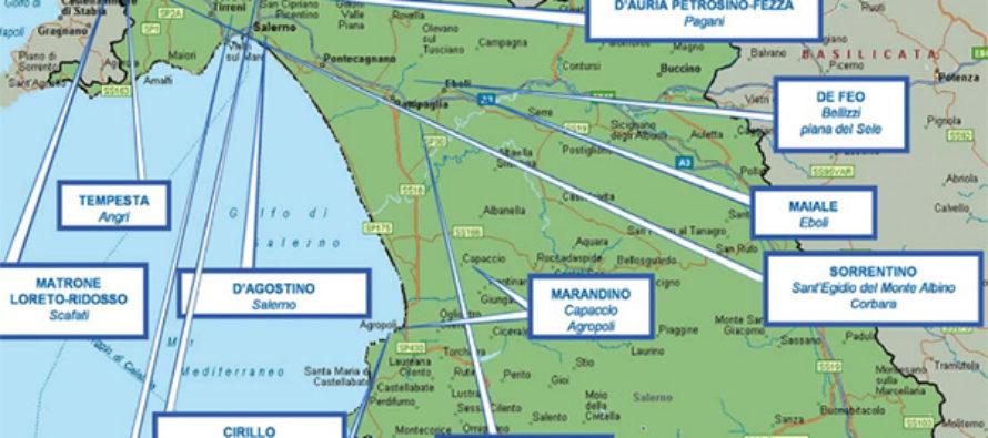 La mappa della camorra in provincia di Salerno