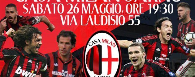 """""""Casa Milan Sarno"""": grande festa per il nuovo club rossonero"""