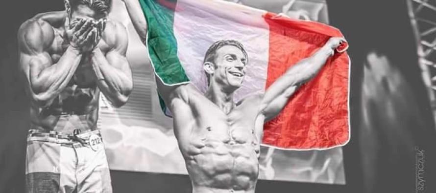 Francesco Montuori da sogno: è medaglia d'oro e domina l'Europa