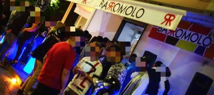 Colpi di pistola contro saracinesca di un noto bar in pieno centro