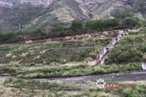 I detriti lasciati dai roghi portati a valle dalle piogge grido d' allarme di Canfora