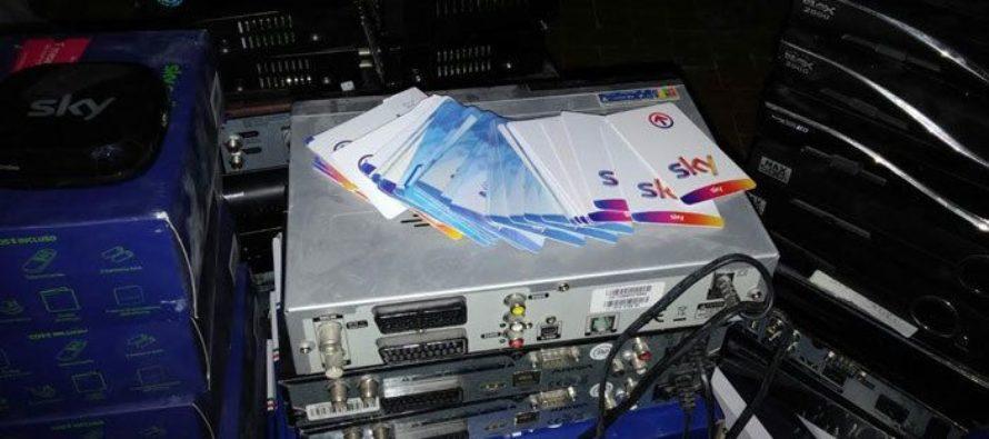 Scoperta maxi rete di pirateria televisiva