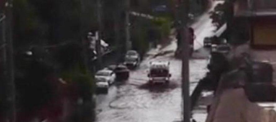 Strade come fiumi tra Sarno e Palma Campania: non passa neanche l'ambulanza