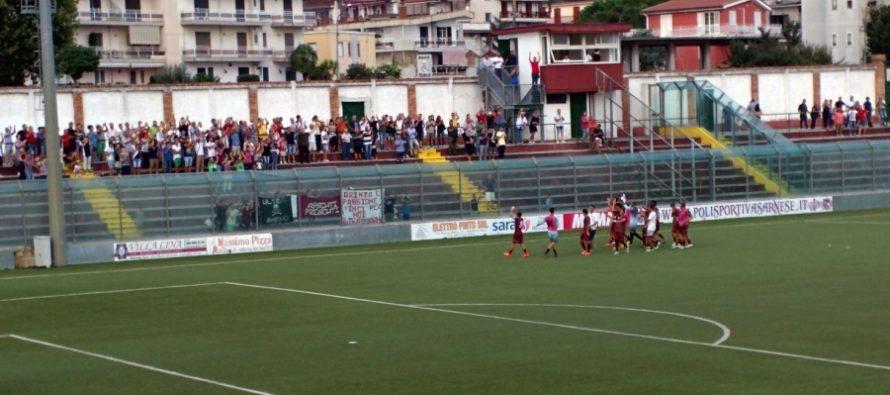 Sarnese-Manfredonia 1-1, ancora un pareggio casalingo per i granata