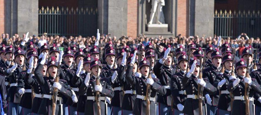 Nunziatella: 230 anni di orgoglio. Gli allievi giurano davanti a Mattarella