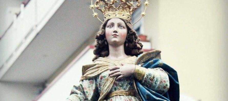 8 dicembre – Processione Immacolata: preghiera e commozione