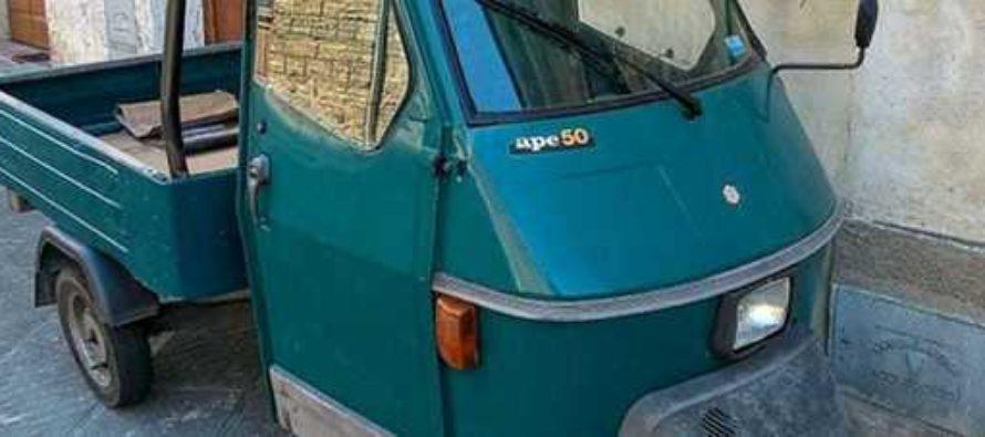 Strani furti a Sarno: scompaiono decine di Ape Car in poche ore