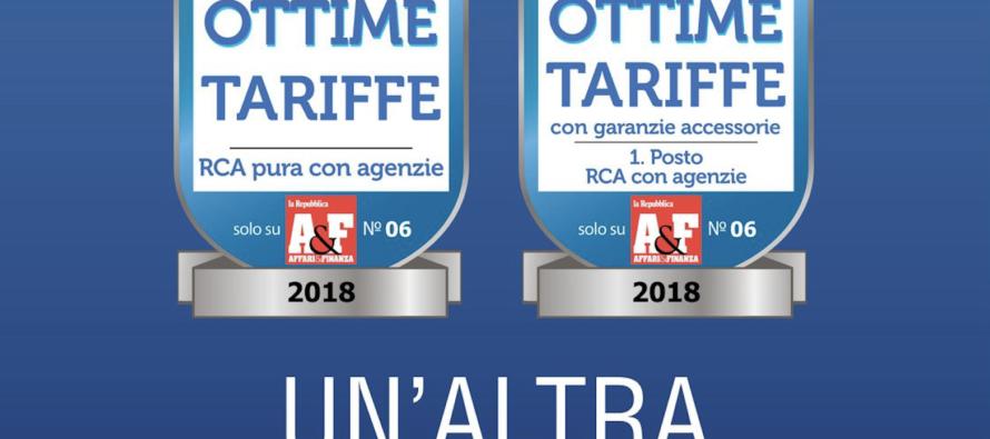 RC Auto e Moto, SARA sul podio delle migliori tariffe