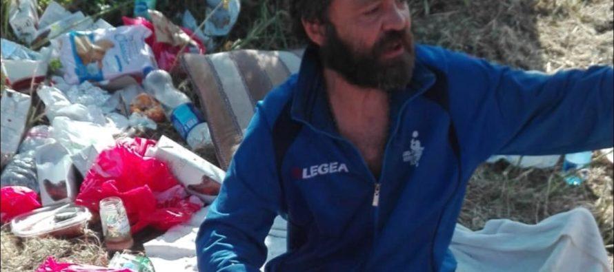 Anton, senzatetto bulgaro, trova una casa famiglia