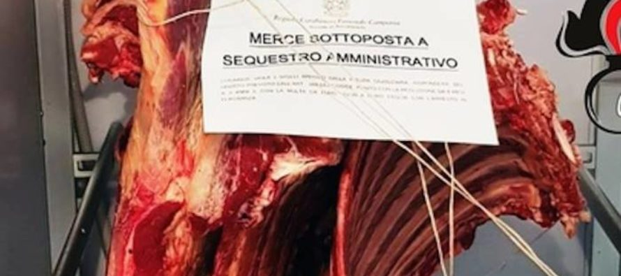 Sequestrati 300 chili di carne in una macelleria marocchina