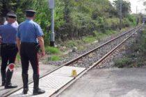Circumvesuviana, incidente mortale a Somma Vesuviana: in scooter investito dal treno