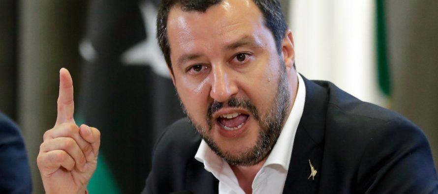 """Retata antidroga, interviene Salvini: """"Basta venditori di morte"""""""