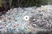 Fiume Sarno invaso dai rifiuti. Video terribile!