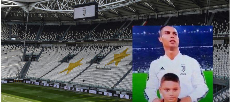 Simone Adiletta con CR7 per Juve – Cagliari