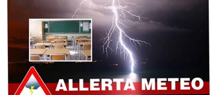 Allerta Meteo: domani 20 novembre scuole chiuse a …