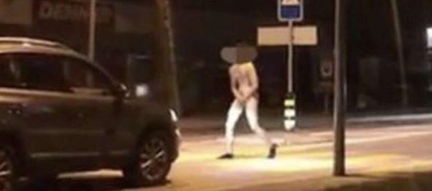 Uomo si denuda e masturba in strada. Choc a Nocera Superiore